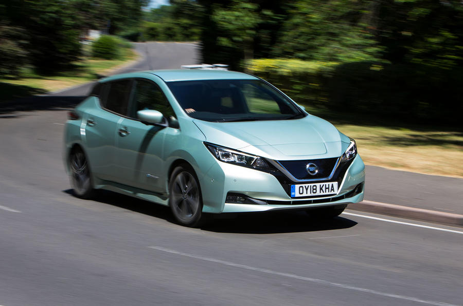 Nissan Leaf 2nd generation (2018) long-term review cornering