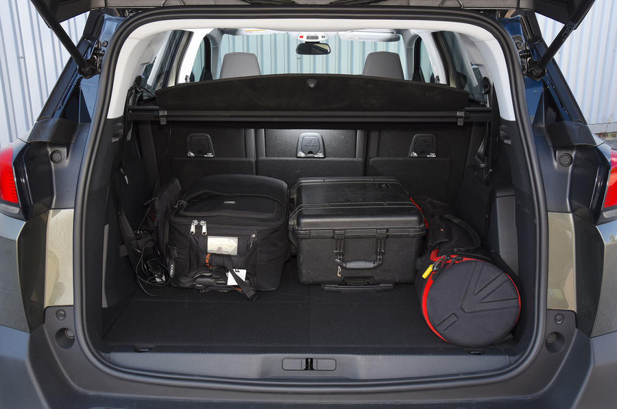 Peugeot 5008 2018 long-term review boot full