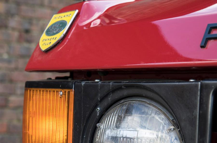Range Rover Mk1 - headlight