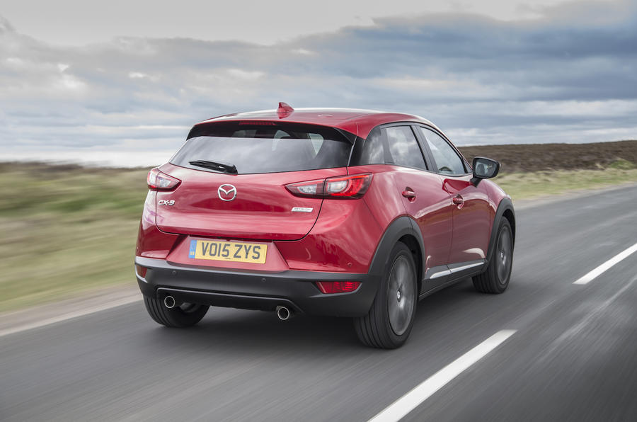 Mazda CX-3 rear