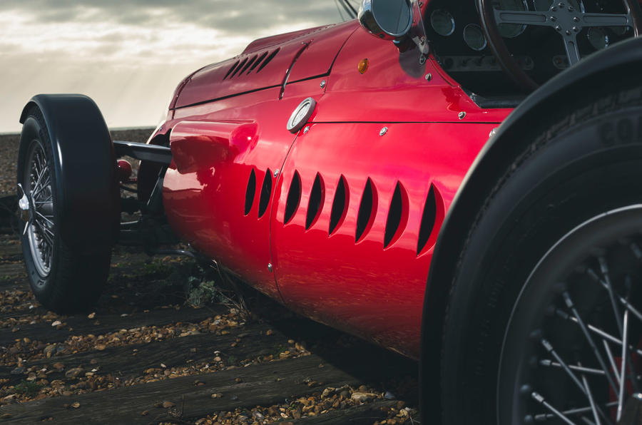 John Nash kit car 2020 - stationary side