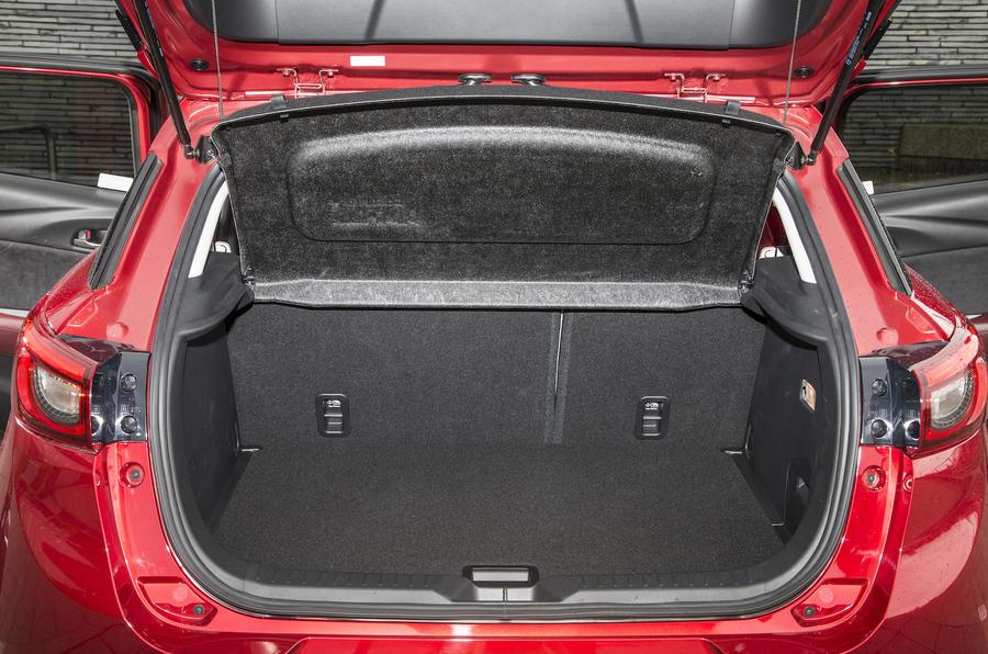 Mazda CX-3 boot space