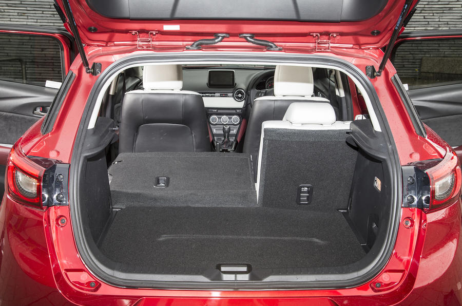 Mazda CX-3 seating flexibility