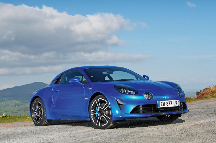 Alpine A110 2018 UK hero static