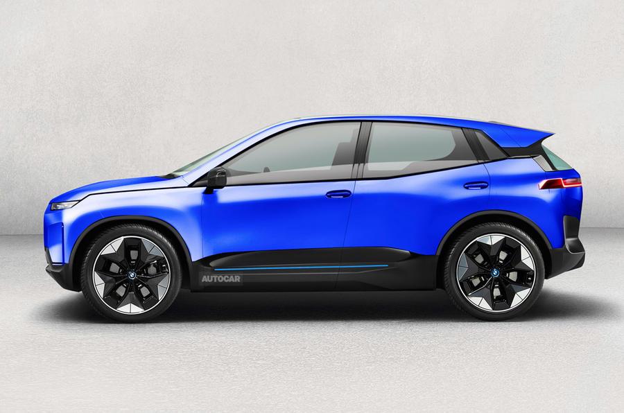 BMW iX1 render