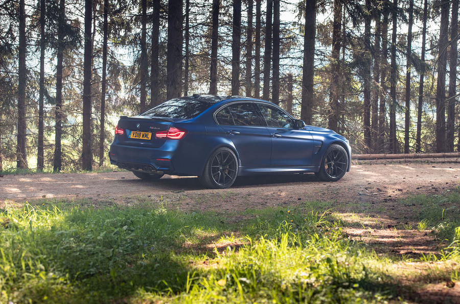BMW M3 CS 2018 review static rear