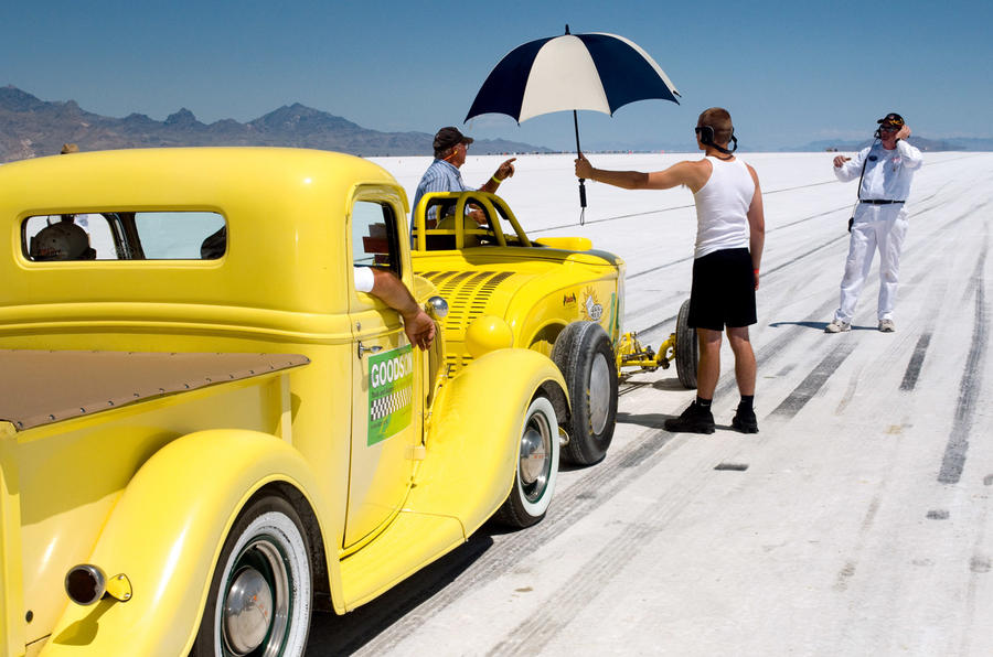 Bonneville speed walk
