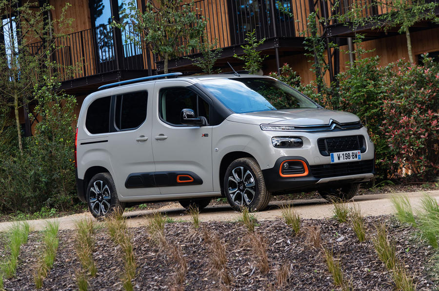 Citroen Berlingo 2018 first drive review static front