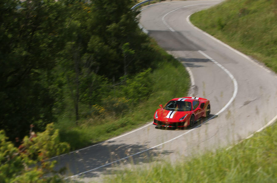 Ferrari 488 Pista 2018 review on the road