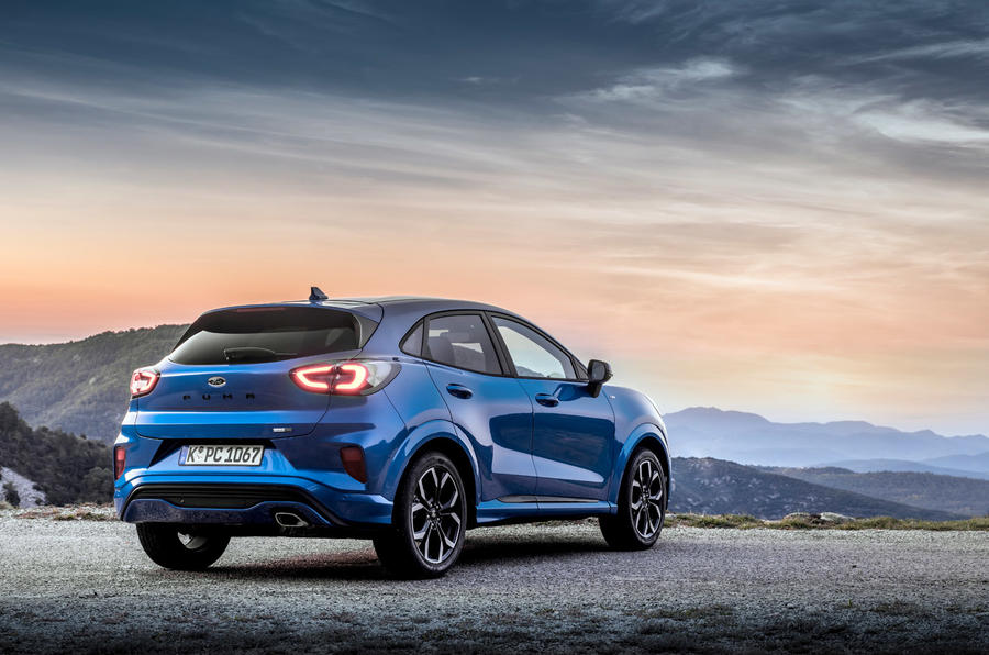 Ford Puma 2020 first drive review - static rear
