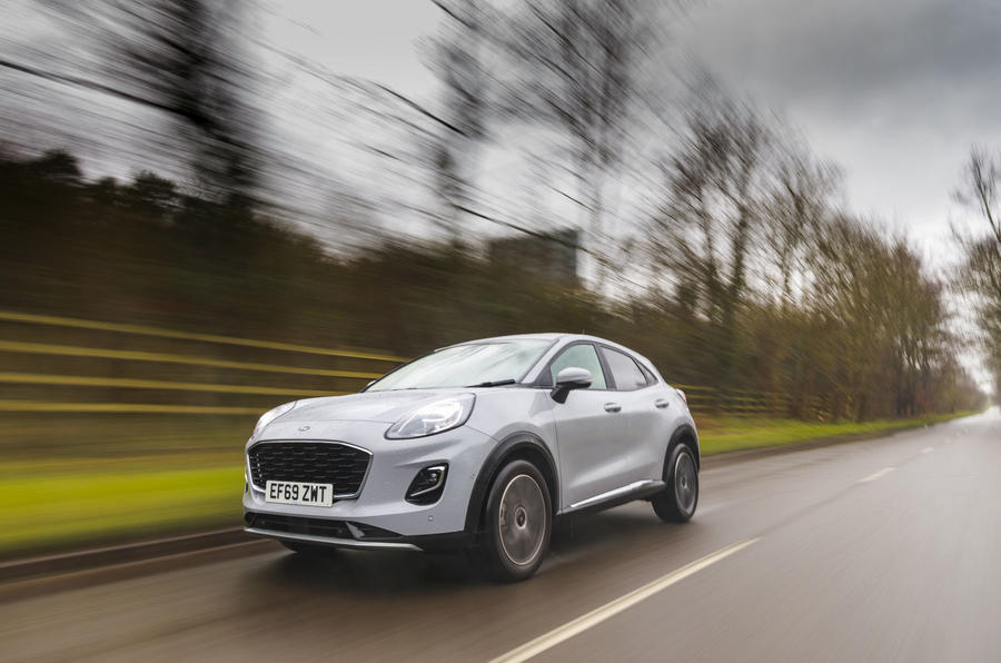 Ford Puma 2020 rt action