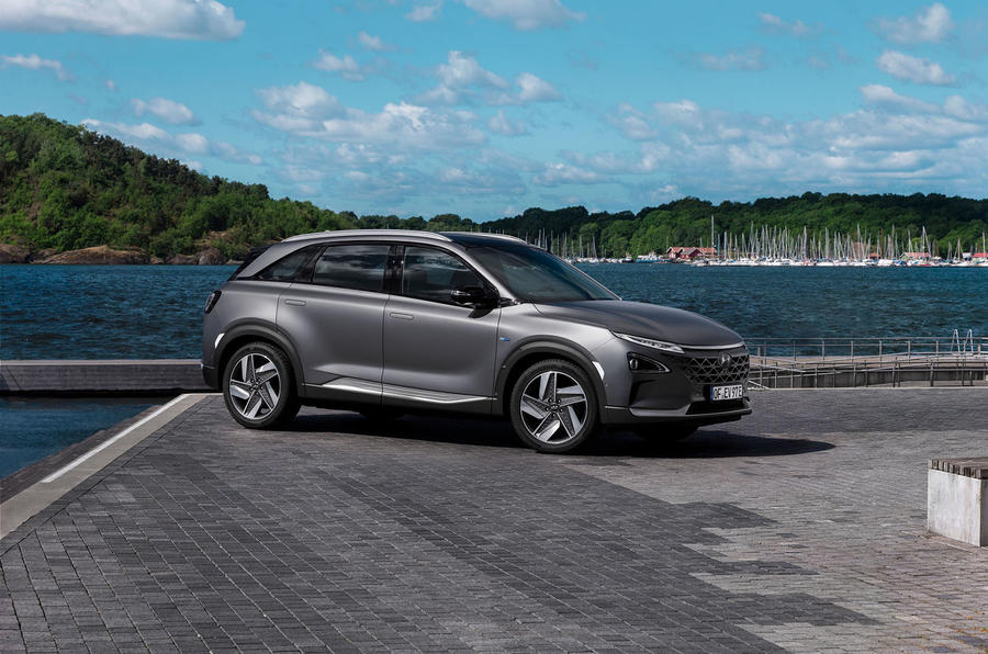 Hyundai Nexo 2019 first drive review static front