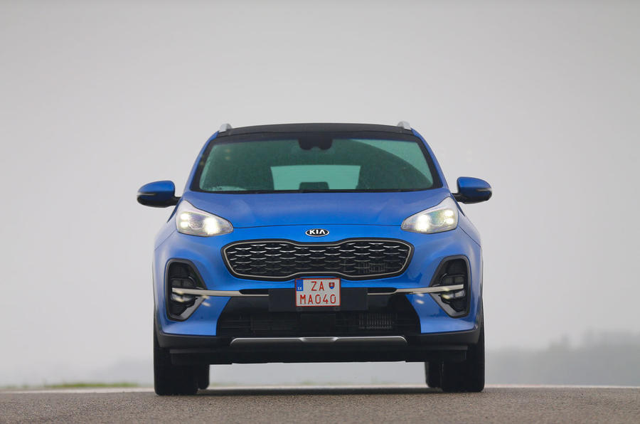 Kia Sportage GT-Line S 48V 2018 first drive review static front