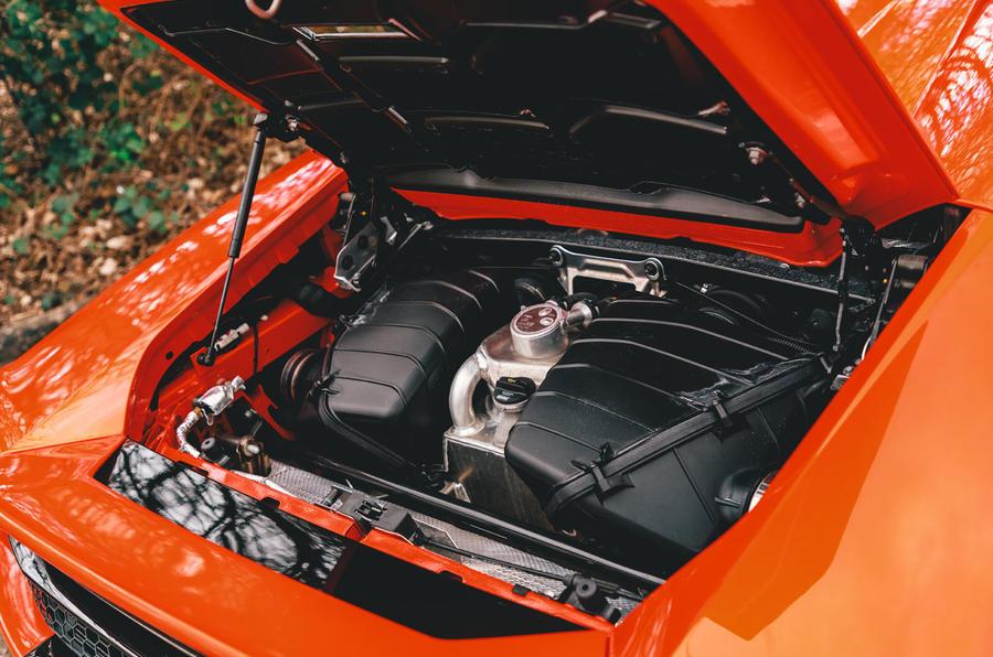 Lamborghini Huracán Spyder 2020 UK first drive review - engine