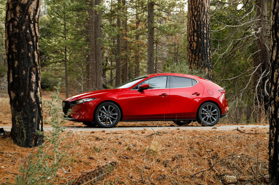 Mazda 3 2.0 Skyactiv-G 2019 first drive review - static side