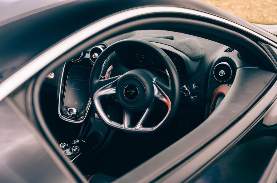 McLaren GT - interior