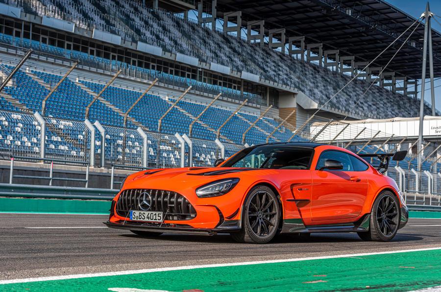 Mercedes-AMG GT Black Series 2020 : premier bilan de conduite - avant statique