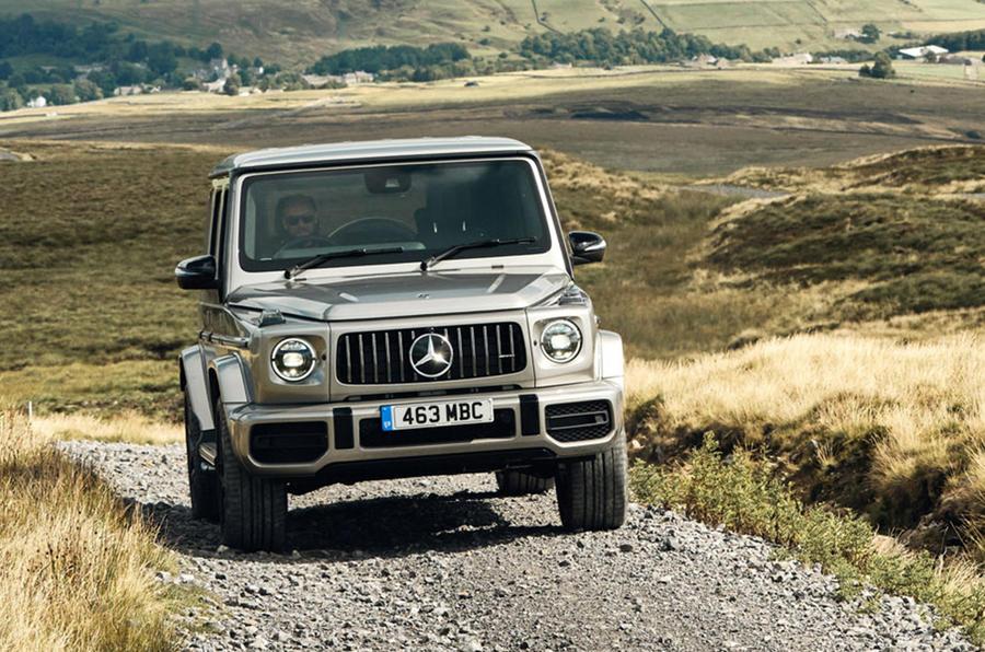 Mercedes-Benz- G-Wagen - new