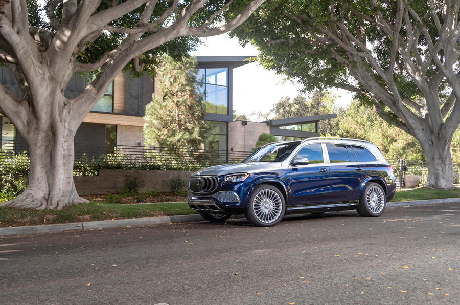 Mercedes-Maybach GLS 600 2020 first drive review - static front