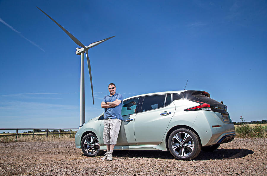 Nissan Leaf 2nd generation (2018) long-term review static Alan Muir