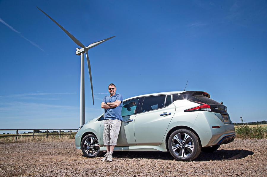 Nissan Leaf 2nd generation (2018) long-term review static Alan Muir