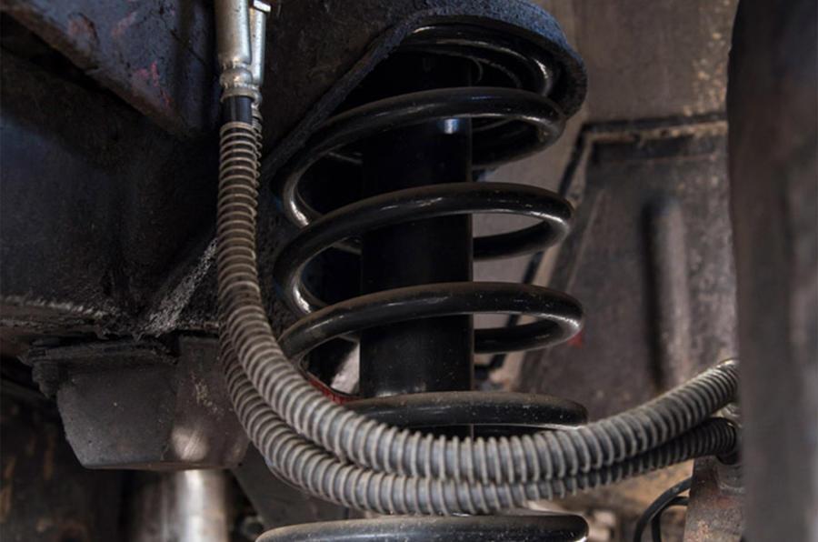 Range Rover Mk1 - suspension