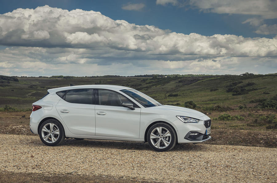 Seat Leon 2020 UK first drive review - static front