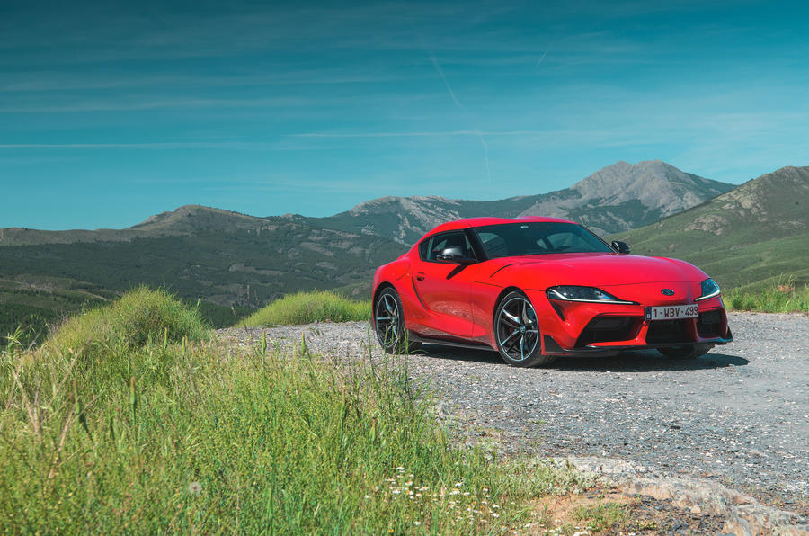 Toyota GR Supra 2019 first drive review - static front