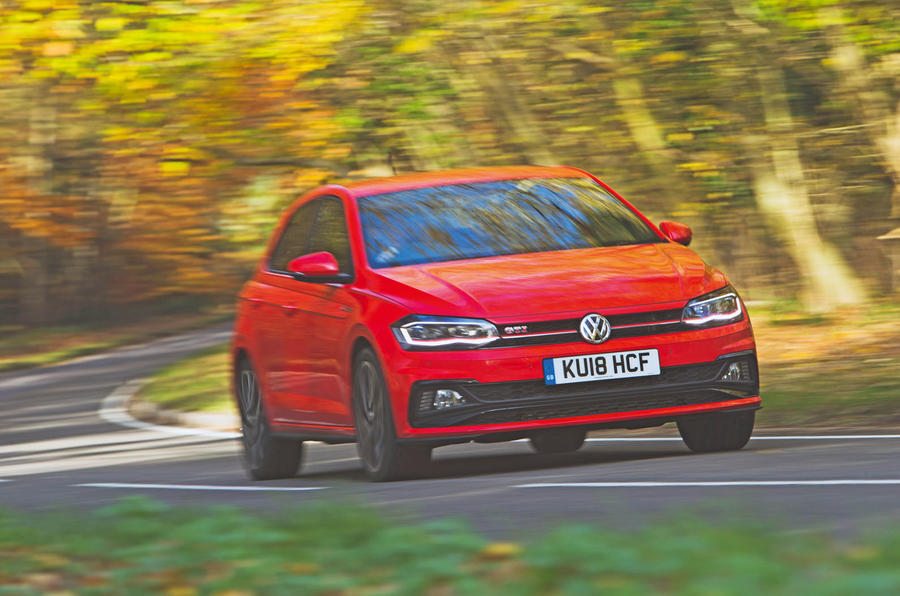 Volkswagen Polo GTI 2018 long-term review - on the road front