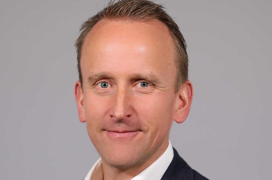 Volvo UK boss Kristian Elvefors