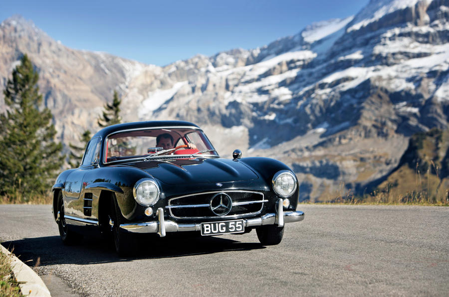 Mercedes-Benz 300SL - tracking front