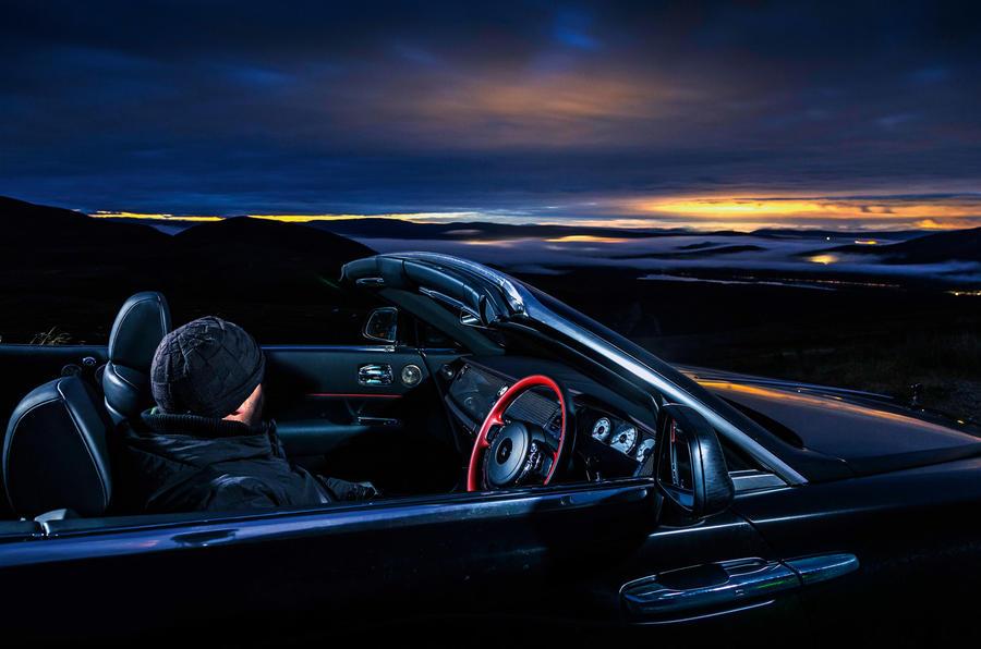 Rolls-Royce Dawn 2016 - stationary side