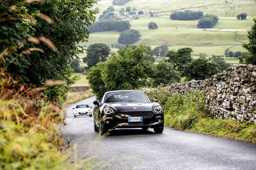 Best Affordable Driveru0027s Road Car In The UK   Fiat 124 Spider ...