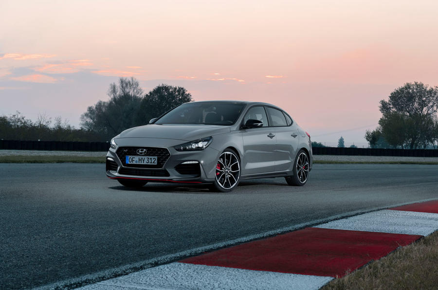 Hyundai i30 Fastback N 2019 first drive review - static track