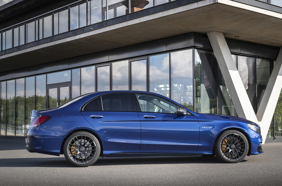 Mercedes-AMG C63 2018 first drive review static side