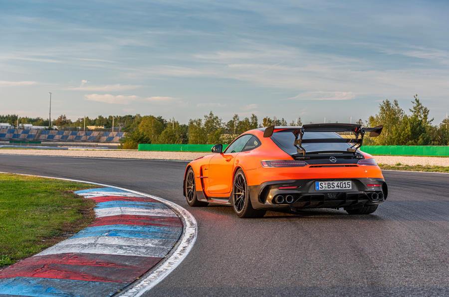 Mercedes-AMG GT Black Series 2020 first drive review - static rear