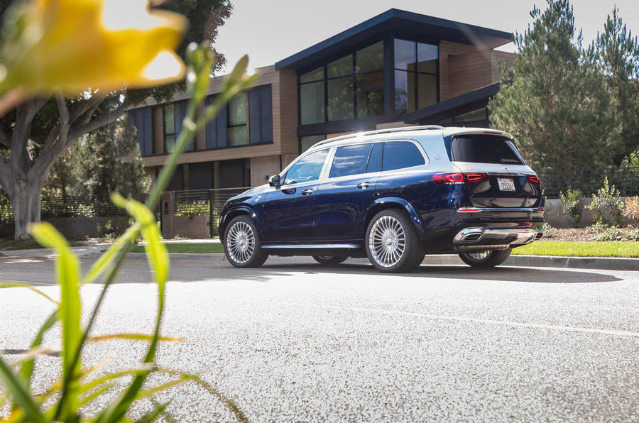 Mercedes-Maybach GLS 600 2020 first drive review - static rear