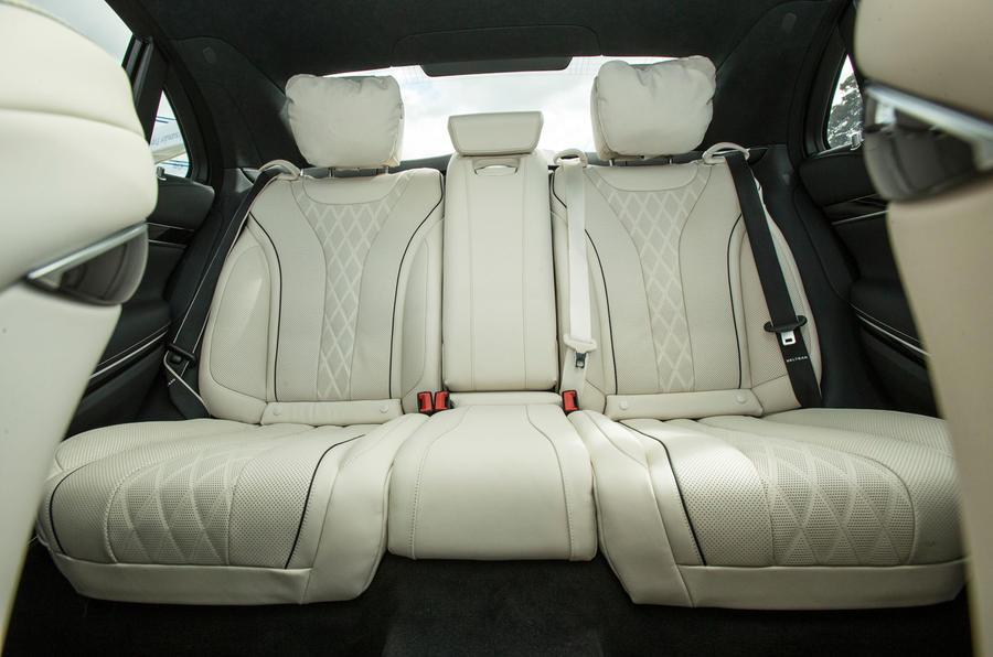 Mercedes-Benz S-Class S500L 2018 long-term review - rear seats