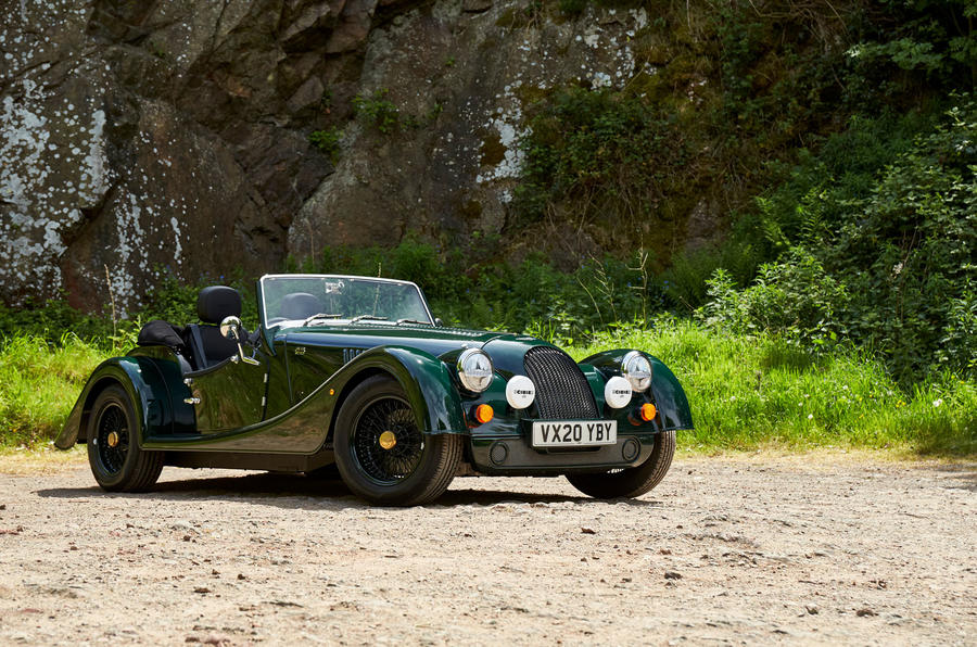 Morgan Plus Four 2020 UK first drive review - static