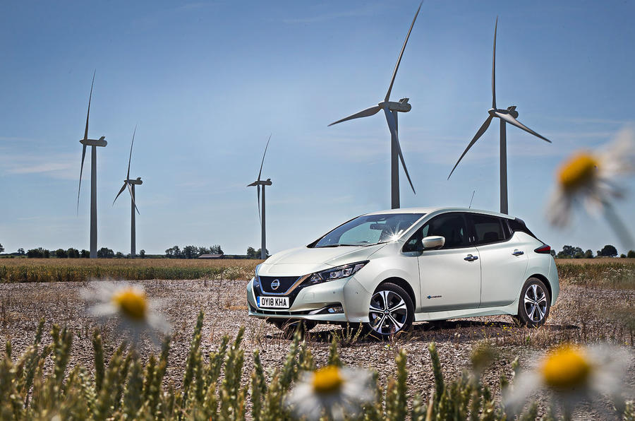 Nissan Leaf 2nd generation (2018) long-term review static hero