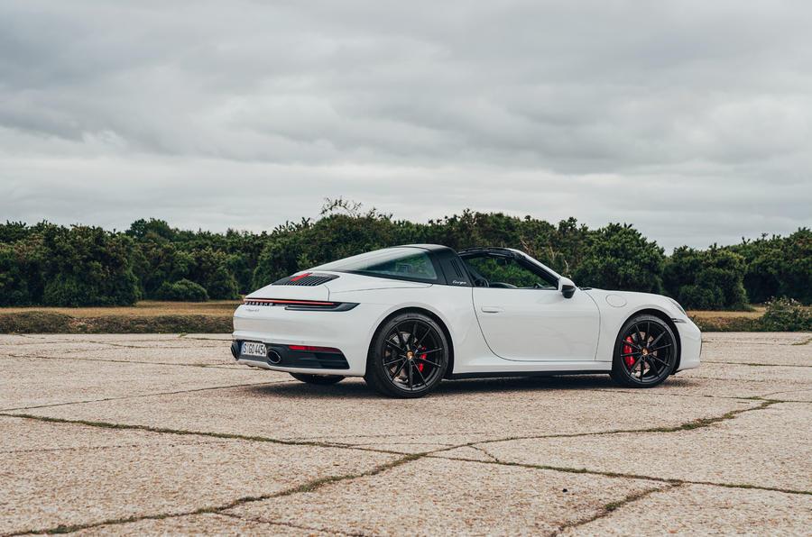 Porsche 911 Targa 2020 UK first drive review - static rear