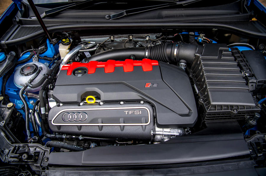 Audi RS Q3 Sportback 2019 UK first drive review - engine