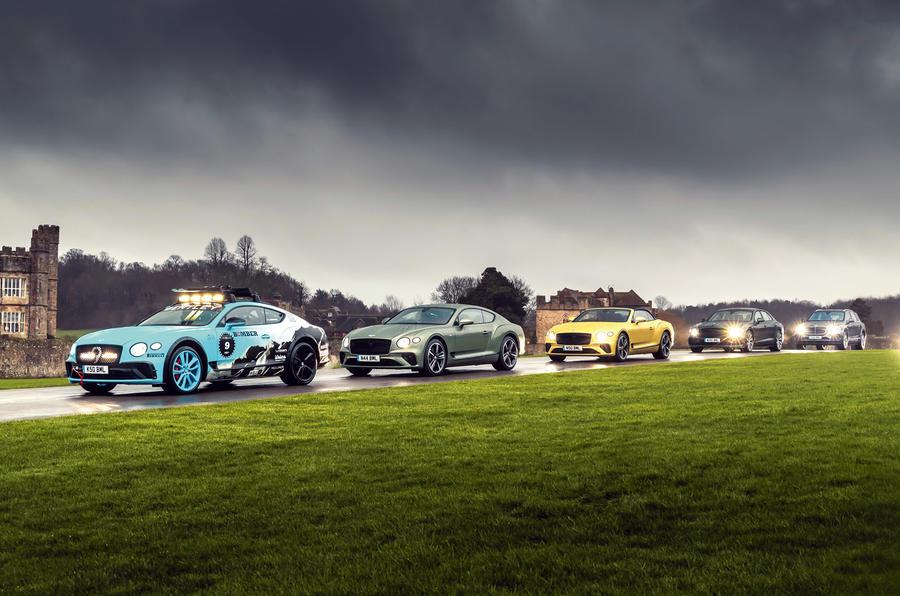 Bentley GT - hero side