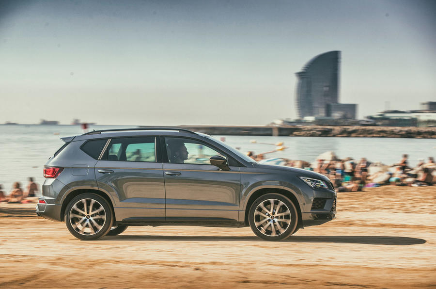 Cupra Ateca 2018 first drive review - action side