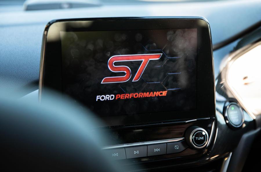 Ford Fiesta ST 2019 long-term review - infotainment start-up