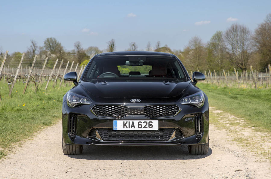 Kia Stinger 2.2 CRDi 2018 UK review static front