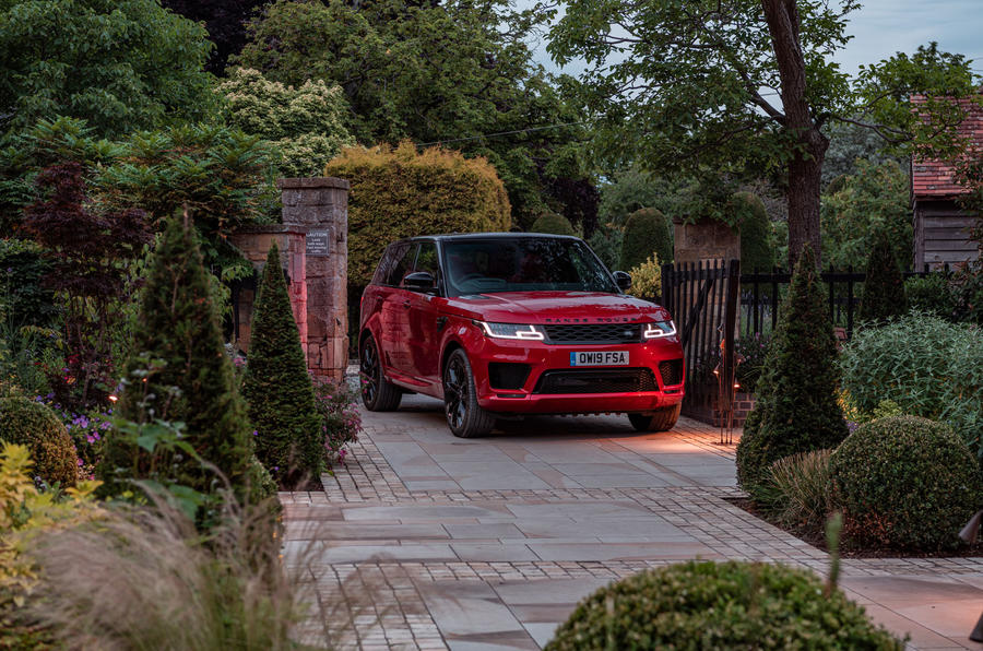 Land Rover Range Rover Sport HST 2019 UK first drive review - static front