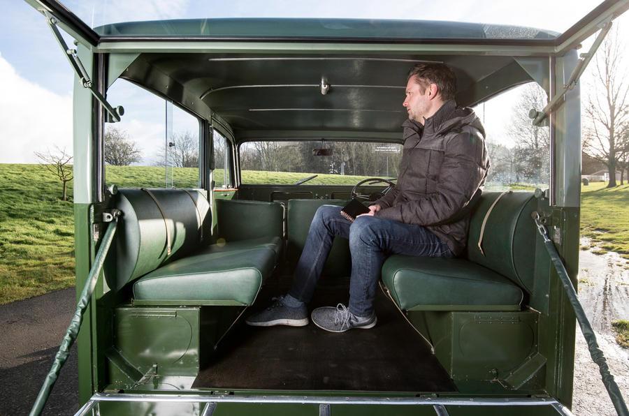Land Rover Station Wagon - interior