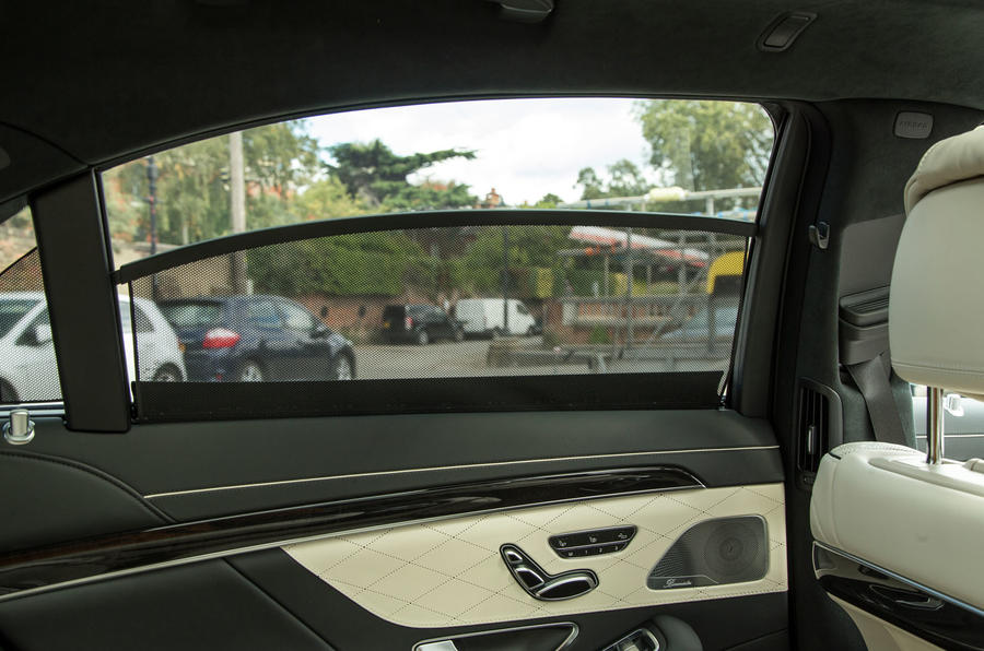 Mercedes-Benz S-Class S500L 2018 long-term review - rear windows