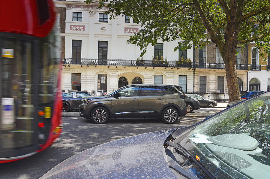 Peugeot 5008 2018 long-term review hero London